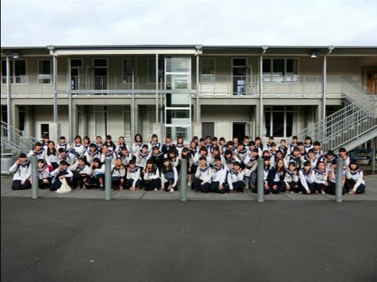 《中学3年》 海外研修NZ北島5日目