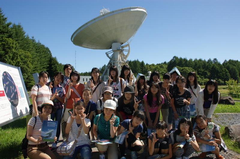 《学園日誌》 クラブ合宿報告(2)「星と宇宙」を研究:理化部