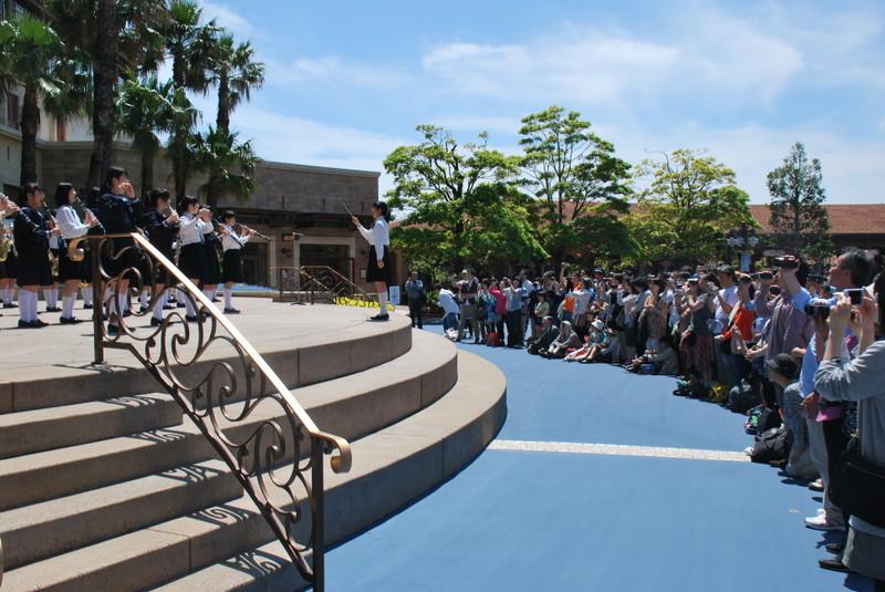 《吹奏楽部》 東京ディズニーシーのミュージック・フェスティバル・プログラムに参加