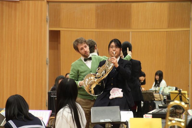 《部活》吹奏楽部 バジル・クリッツァー先生のセミナーを受けました