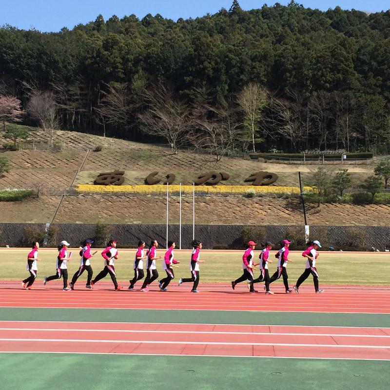 《部活動》 2014年度 陸上競技部 春合宿