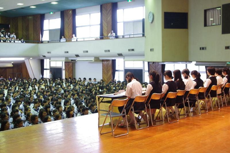 2015年度 前期生徒総会が行われました