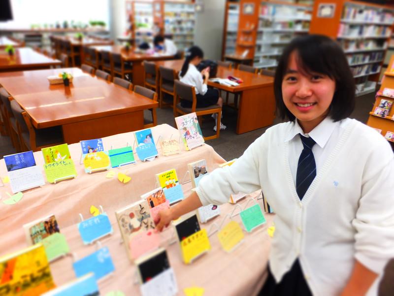 《図書委員会》重松清さんの展示コーナーを作りました!