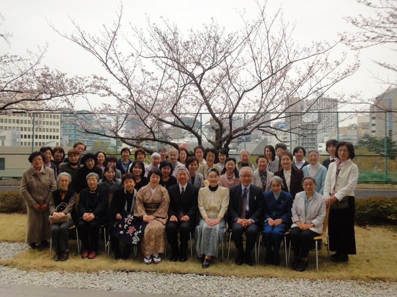《花と実の会》 2016(平成28)年度 花と実の会 幹事総会  ~桜を愛でる会~