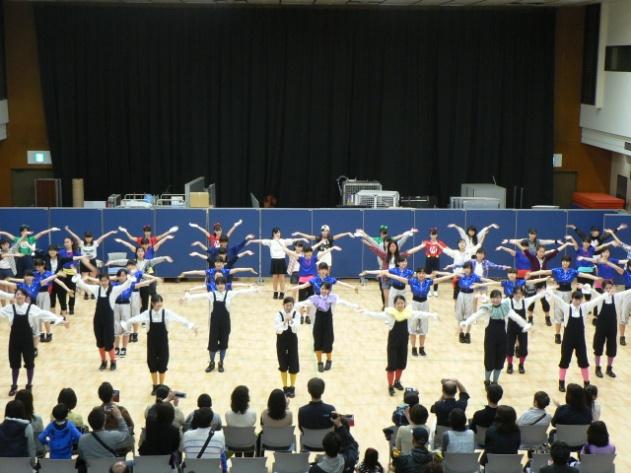 《部活動》 ダンス部 横浜市民防災センターリニューアルオープン記念イベント出演