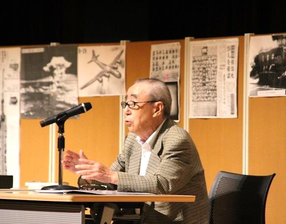 《中学1年》 松本正さんの講演会がありました