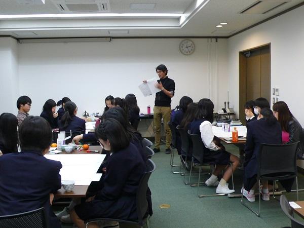 《高校1年》 FW水俣 埼玉大学生との交流会
