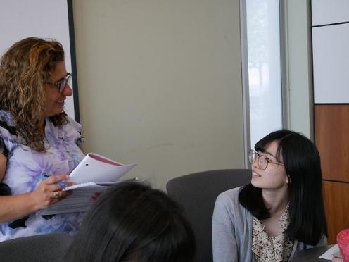 《高校2年》 カナダ研修 最後のESL/世界で活躍する女性たち
