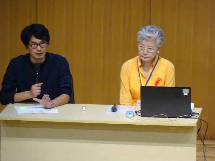 《中学1年》 総合 植松さん講演会