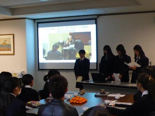 《高校1年》 国内フィールドワーク水俣方面  埼玉大学との交流会