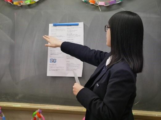 《高校2年》 探究学習発表会がありました