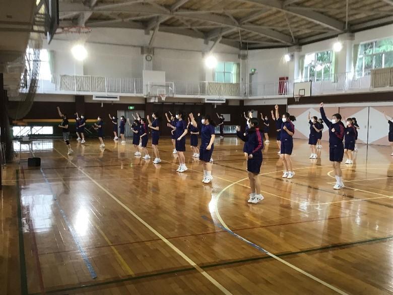 《中学2年》 体育「ダンス」