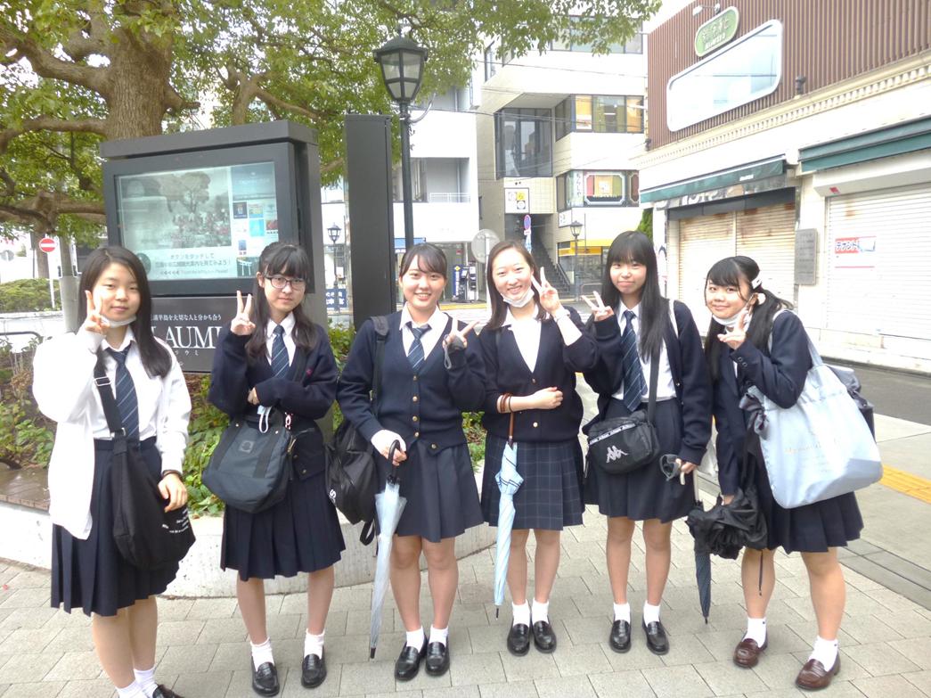 高校1年 鎌倉研修に行きました