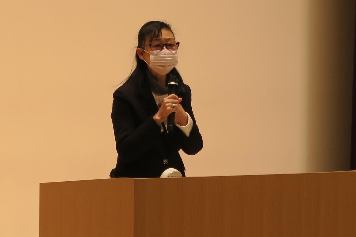 《中学1年》 小森美登里さん講演会