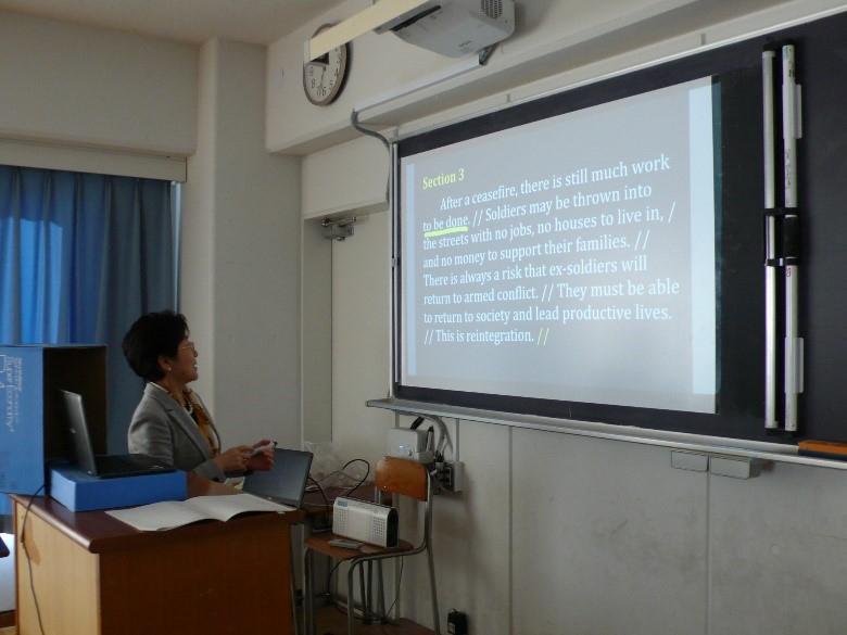 オンライン学習/授業の様子