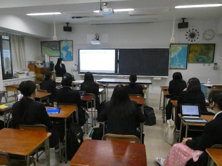 高校2年生 探究 最終発表会