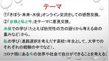 高1FW  埼玉大学生とのオンライン交流会「水俣と私と今」