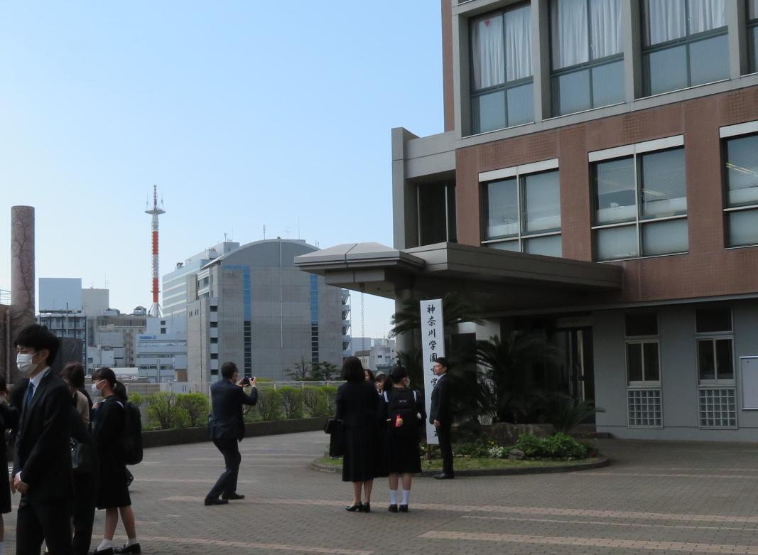 ご報告 2021年度 神奈川学園中学校入学式が行われました