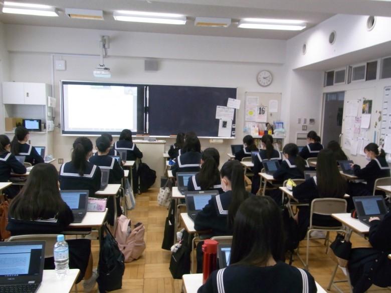 中3学年  総合学習「国際」の時間に「多文化共生」を考えました