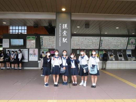 中学3年  鎌倉研修に出かけました