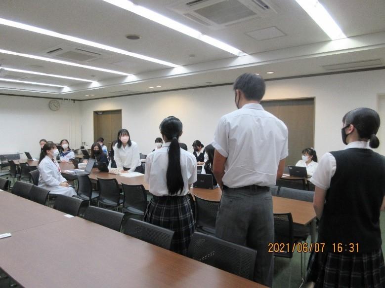 生徒会  朝鮮学校生徒会との交流会