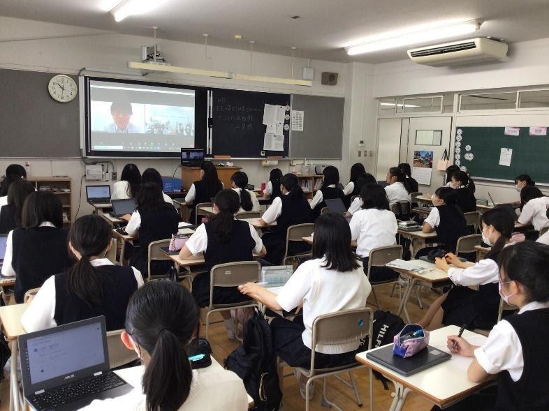 高1D文化祭  サンシャイン水族館・二見武史さんオンライン講演会
