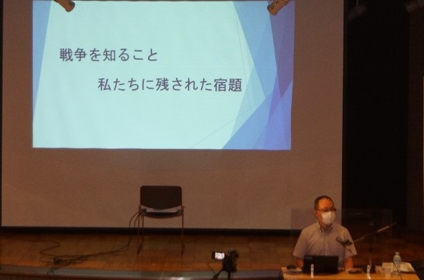 FW沖縄  川崎市平和館主催「平和を語る市民のつどい」に参加しました